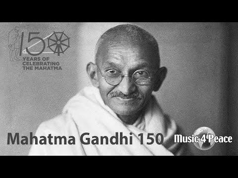Mahatma Gandhi 150th Birthday - Music 4 Peace Livestream