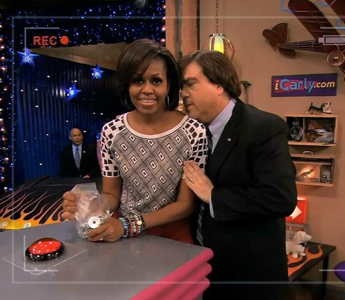 Michelle Obama and Dan Schneider