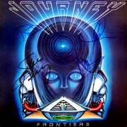 Journey Signed Frontiers Album