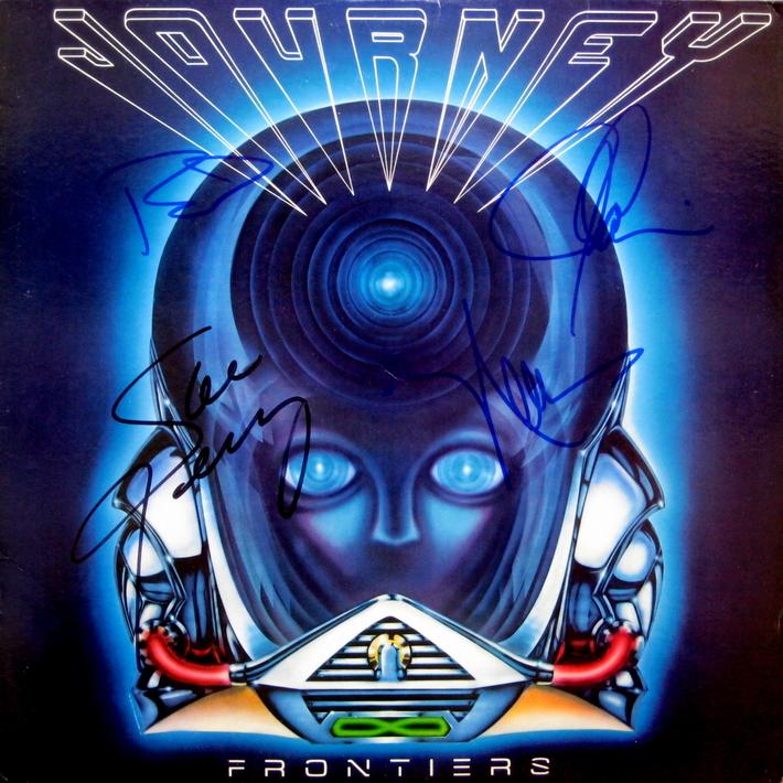 Journey Signed Frontiers Album