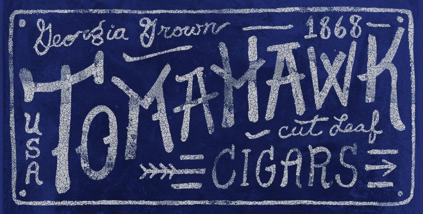 - Tomahawk Cigars 1868 -
