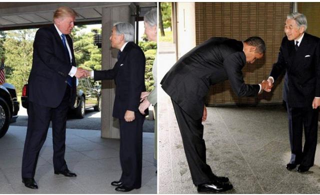 Manly Handshake! Checking the Shoe Shine