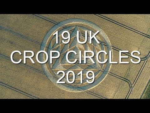 19 UK Crop Circles of 2019 Compilation
