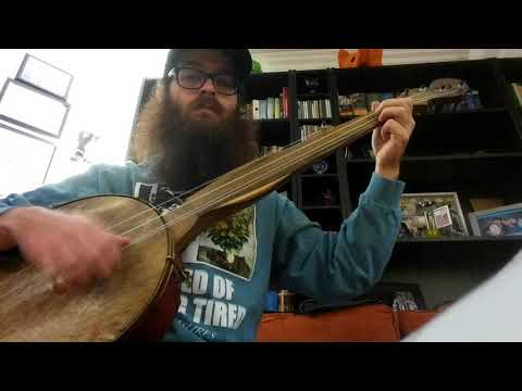 Rapahanock Jig - fretless minstrel banjo