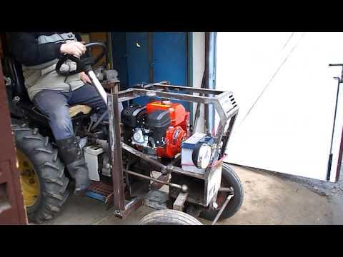 test traktoru