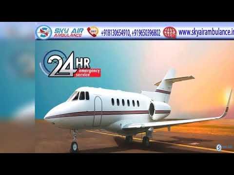 Air Ambulance in Patna with Full Fledge Medical Facility
