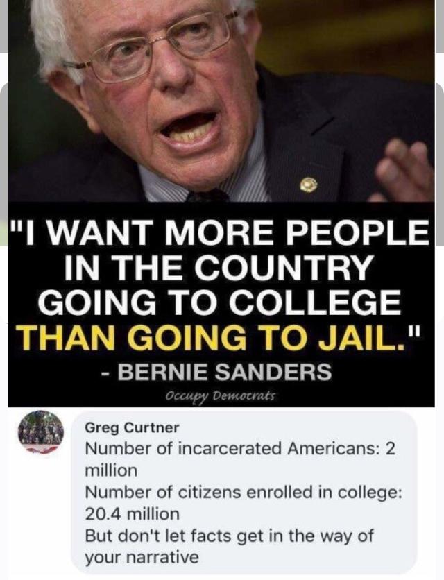 Bernie Bullshitter