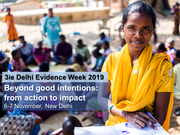 Beyond good intentions: from action to impact, New Delhi, 6-7 November