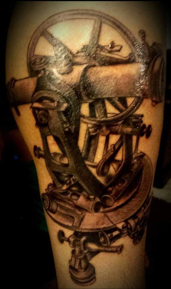 Theodolite Tattoo