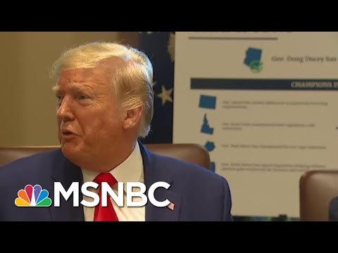 Trump confesses to violating the Emoluments clause Article 1 Section 9 Paragraph 8 Of Constitution: 'Phony Emoluments Clause' | MSNBC