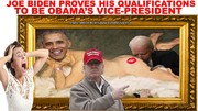 JOE BIDEN PROVES HIS QUALIFICATIONS TO BE OBAMA'S VICE PRESIDENT
