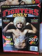 Khabib Abdulmanapovich Nurmagomedov. UFC Welterweight Champion.
