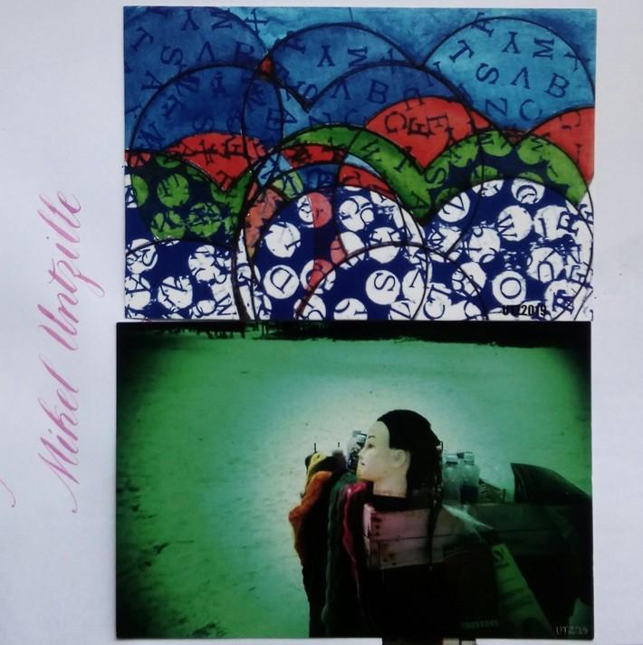 Interesting postcards-Thank You Mikel Untzilla