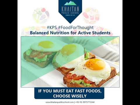 Balanced Nutrition for Active Students