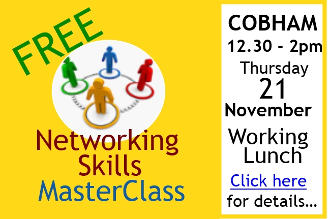 Networking is the most cost-effective and powerful way to grow your business! Discover how to make it work better for you at this FREE informal and fun workshop...