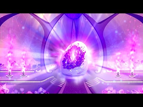Seven Sacred Flames Meditation: Seventh Ray Temple, The Violet Flame temple in Telos