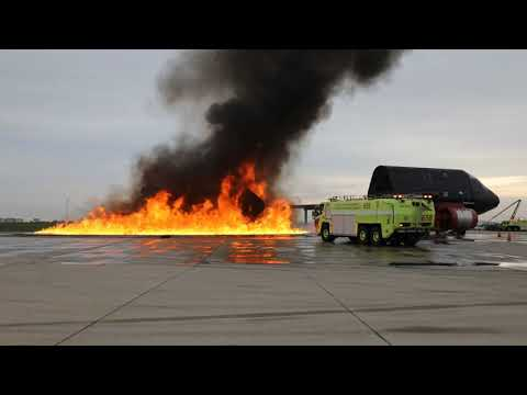Chicago Fire Dept ARFF Training