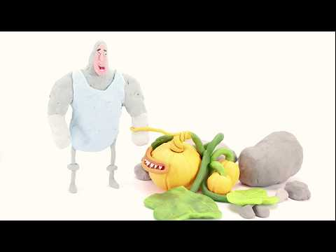 Happy Halloween - Frans from Repellent (webcomic) STOP MOTION ANIMATION clayanimation