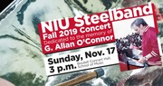 Fall NIU Steelband concert is a tribute to Al O'Connor