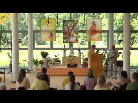 Ayurveda Kongress 2019 - Begrüßung, Vortrag und Ritual