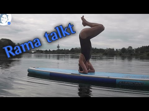 Rama talkt: SUP Yoga