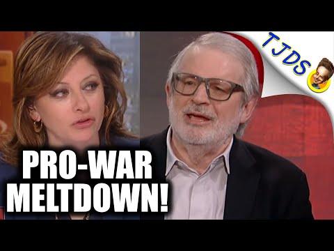 Reagan Official Says Cut Military Spending! Panel SCREAMS!