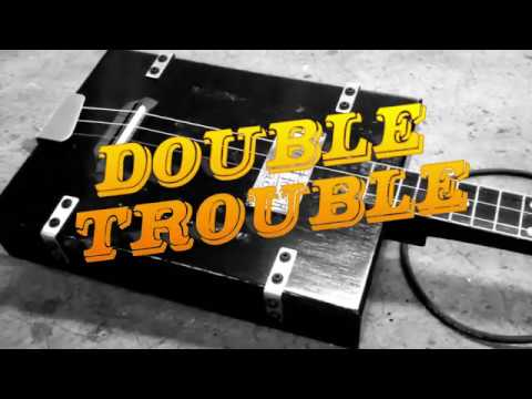 Double Trouble - Slide Overdrive - 3 String Cigar Box Guitar