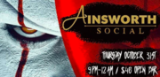 New Ainsworth's FIRST Annual Halloween Party!