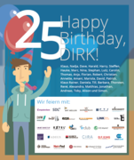 25 - Happy Birthday, DIRK!