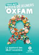 Petits déjeuners Oxfam à la Terrasse de Mariemont