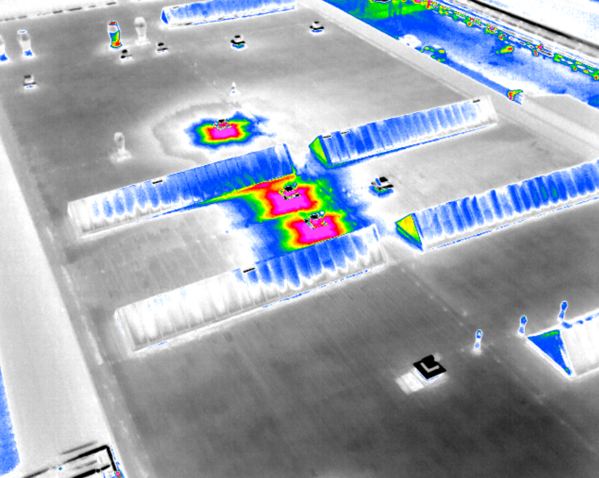 Thermo-diagnostics of flat roofs with Workswell AIRvision