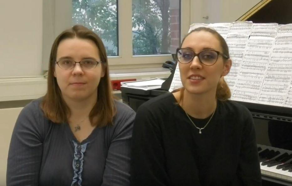 IVC 2019- MEET ESTHER VALENTIN & ANASTASIA GRISHUTINA - Germany/Russia