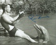 Flipper and Ricou Browning, signed IP at Spooky Empire in Tampa Con.Cent. Oct. 31, 2019