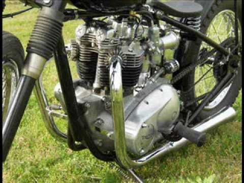 The Triumph Bonneville Song