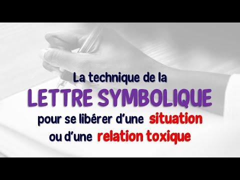 TECHNIQUE DE LA LETTRE SYMBOLIQUE