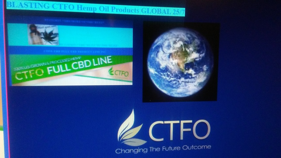 BLASTING CTFO Hemp Oil Products GLOBAL 25/7