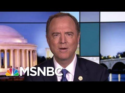 Expect Impeachment Transcripts released Next Week Rachel Maddow MSNBC Adam Schiff