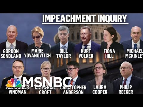 Impeachment probe Conclusive evidence Trump guilty of Abusive of Power MSNBC Deadline