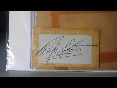 Ringo Starr Signed Full Name Autograph 1963 - 1964 Beatles Memorabilia