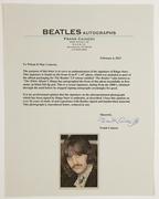 """Sell:'' Frank Caiazzo'', ""LOA,""Ringo Starr"", ""Ringo"", ""The Beatles"", ""White Album"",Insert Autograph"