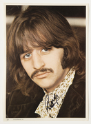 "''Sell:"" Ringo Starr, 8X19 Color Photo Insert to The Beatles' White Album,COA's: Frank Caiazzo,Perry Cox, PSA. Only: $370. PayPal Only,Free Shipping Tracking Is Extra"
