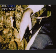 """OFFICIAL FBI PHOTO, Vince Foster's hand after """"guninmouthsuicide"""""""