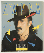 """""""Sell:"""" Frank Zappa Autographed""""Viva Zappa"""" Book. Only $185.00"""