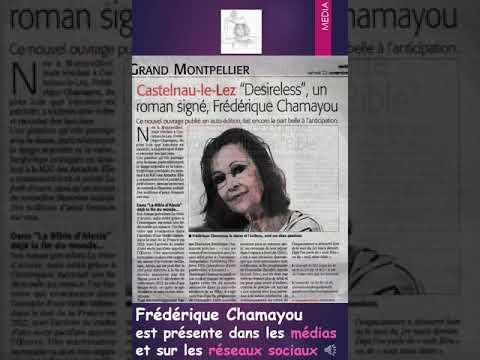 Frédérique Chamayou, écrivaine