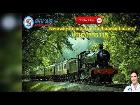 Choose Rail Ambulance Service in Kolkata and Guwahati at a Low Fare