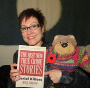 Mitzi Szereto and Teddy Tedaloo with The Best New True Crime Stories: Serial Killers