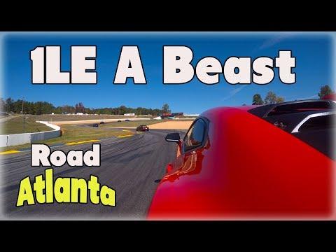 Camaro 1LE A Beast On Track- Road Atlanta