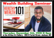 Healthy Wealth 101 Seminar and Book Signing