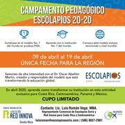 CAMPAMENTO PEDAGÓGICO ESCOLAPIOS SORIA 20-20 (ABRIL 2020, ESPAÑA)