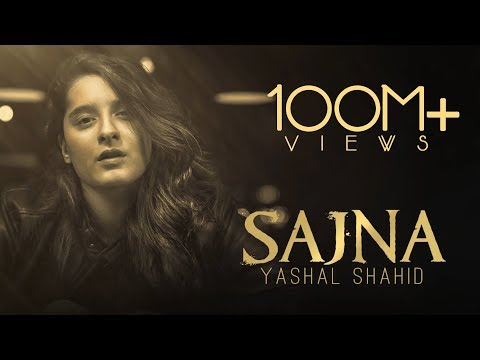 ALI ZAFAR Featuring: YASHAL SHAHID | Sajna (LYRICAL VIDEO) | Unplugged Song | Teri Yaadan Sahare